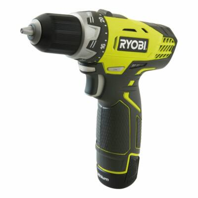 Ryobi RCD12011L 12 V  fúrócsavarozó, 1 x 1,3 Ah, akku, töltő