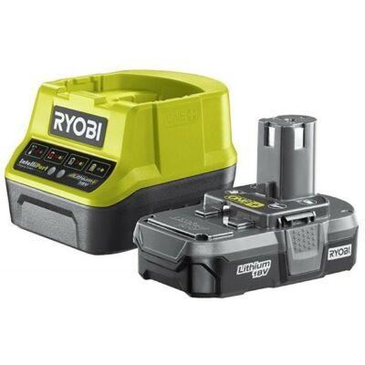 Ryobi ONE+ Akku és töltő 18V - RC18120-113