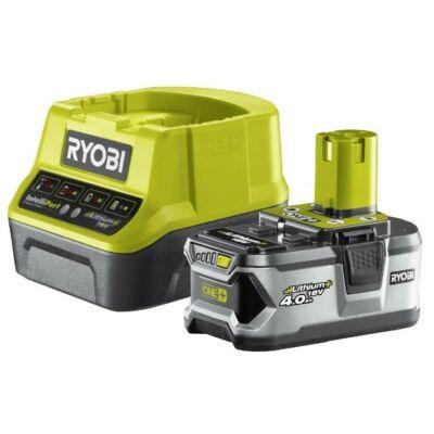Ryobi ONE+ Akku és töltő 18V RC18120-140