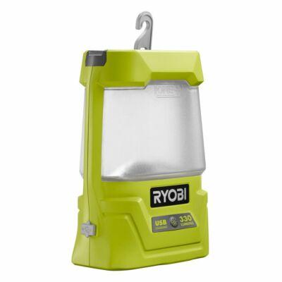 Ryobi R18ALU-0 18 V térmegvilágító lámpa, akkumulátor és töltő nélkül
