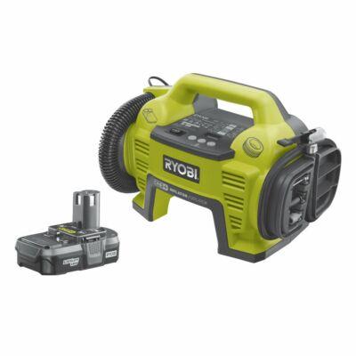 Ryobi R18I-113S 18 V pumpa, 1 x 1,3 Ah akkumulátor, töltő