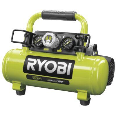 Ryobi R18AC-0 akkus kompresszor, 8.3bar, 3.8L, 18V (akku és töltő nélkül)