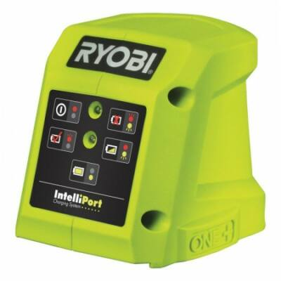 Ryobi RC18-115 18 V, 45 perces gyorstöltő 1,3 Ah akkuhoz